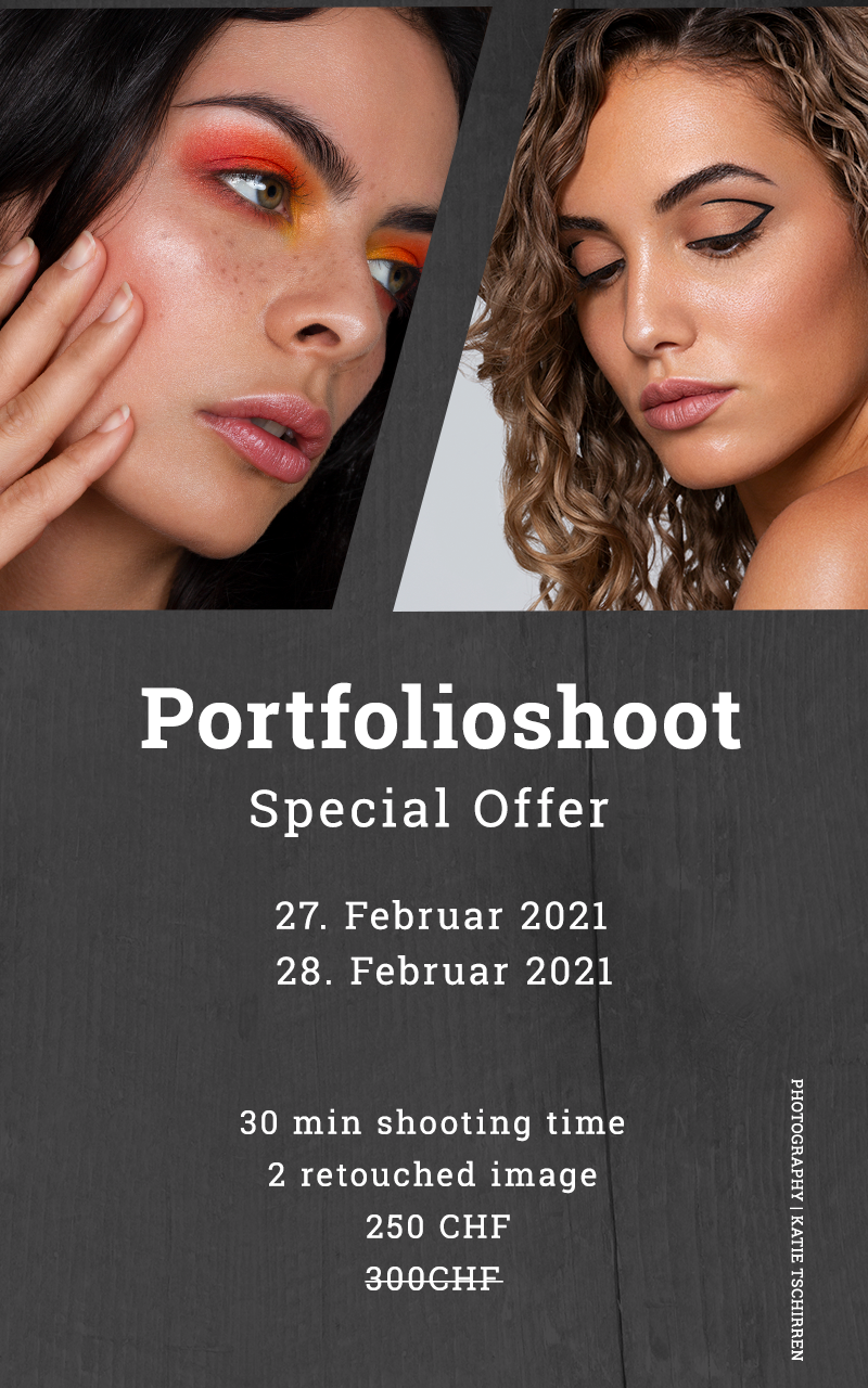 Portfolioshoot für Make-up Artisten